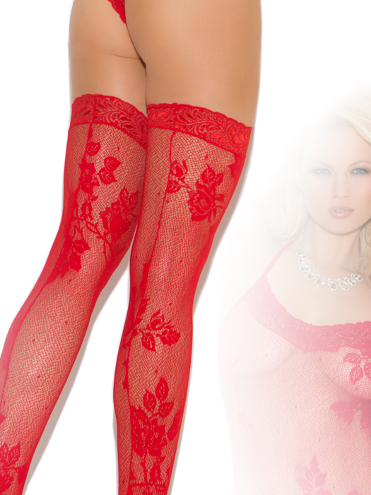 Halter style teddy with stockings - Click Image to Close